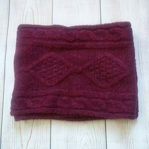 Old Navy infinity scarf burgundy
